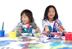 Childhood Painting Stock Images