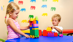 Childhood playtime Royalty Free Stock Photography
