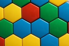 Childhoods mosaic Stock Image