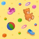 Childish background Royalty Free Stock Photo