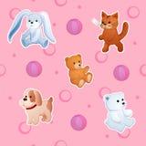 Childish background Stock Image