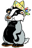 Childish badger Stock Images