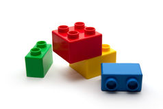 Childish Blocks Royalty Free Stock Images