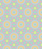Childish Festive Seamless Pattern Stock Photography