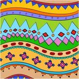 Childish pattern Stock Image