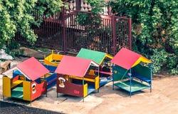 Childish pavilions Stock Photography