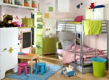 Childish room Stock Images