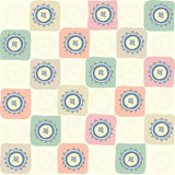 Childish seamless abstract pattern Royalty Free Stock Photo