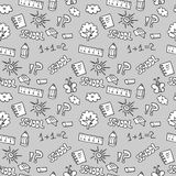 Childish seamless pattern Royalty Free Stock Image