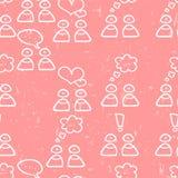 Childish seamless pattern Stock Image