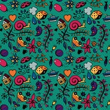 Childish seamless pattern Stock Photo