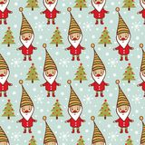 Childish vector seamless pattern. Royalty Free Stock Photography