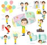 Childminder men_success & positive Stock Photos