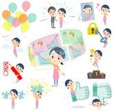 Childminder women_success & positive Stock Photo