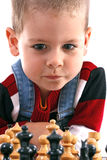 Childre playing chess Royalty Free Stock Photo
