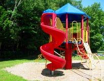 Children's-Spielplatz playsystem Lizenzfreie Stockfotografie