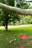 A children's swing seat Royalty Free Stock Photography
