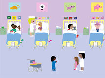 Children´s hospital Stock Photography