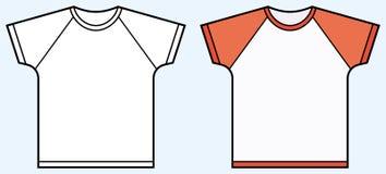 Childrenâs T-Shirt Lizenzfreies Stockfoto