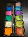 Children& x27; коробка расцветки s стоковые фотографии rf