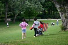 Children. In park Stock Images