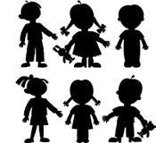 Children royalty free illustration