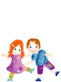 Children royalty free illustration