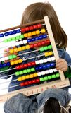 Children with abacus Royalty Free Stock Image