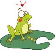 children żaby ilustracyjni pocztówek miejsca ilustracja wektor