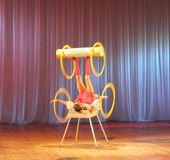 Children acrobats and jugglers Stock Photography