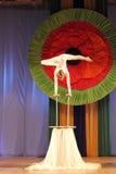 Children acrobats Royalty Free Stock Photography
