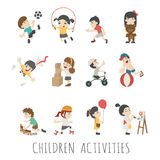Children activities Royalty Free Stock Photos