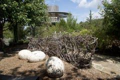 Children adventure garden Dallas. Interior of Children adventure garden in Dallas Arboretum, TX USA Stock Photo