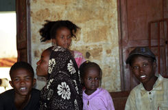 Children, Aleg, Mauritania Stock Photos
