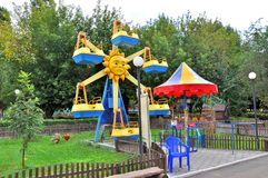 Children amusement show Stock Images