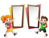 Free Children Are Goes To Shcool Stock Photos - 118303203