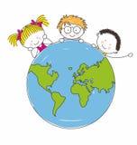 Children around the world Stock Images