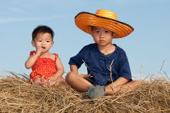 Children from Asia Stock Image