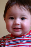 Children - Baby Face. Close up of a baby boy Royalty Free Stock Images