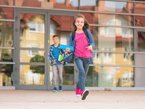 Children back to school Royalty Free Stock Images