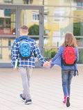 Children back to school Royalty Free Stock Photo
