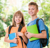 Children back to school Royalty Free Stock Photography