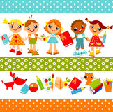 Children Background. Education Stock Photography