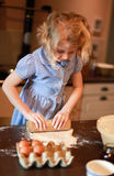 Children baking Stock Photo