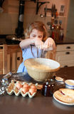 Children baking Stock Photo