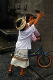 Children in Bali playing Stock Images