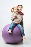 Children With Ball Stock Photos