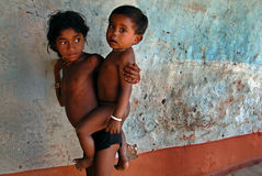 Children in Bastar Stock Photos