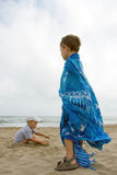 Children on the beach Royalty Free Stock Photography