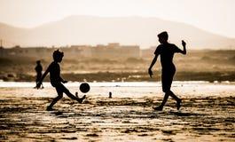Children on the beach Royalty Free Stock Photos